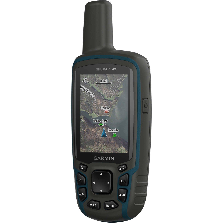 Garmin GPSMAP 64X Handheld GPS, Black