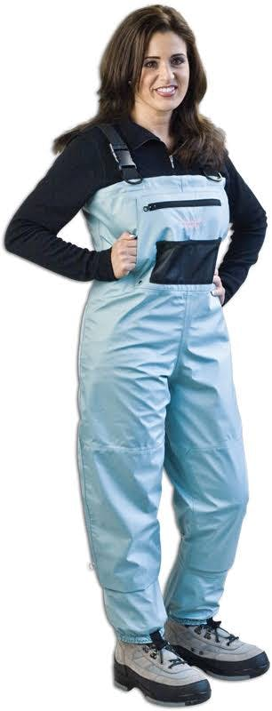Caddis Women's Deluxe Breathable Waders - Teal XL Short