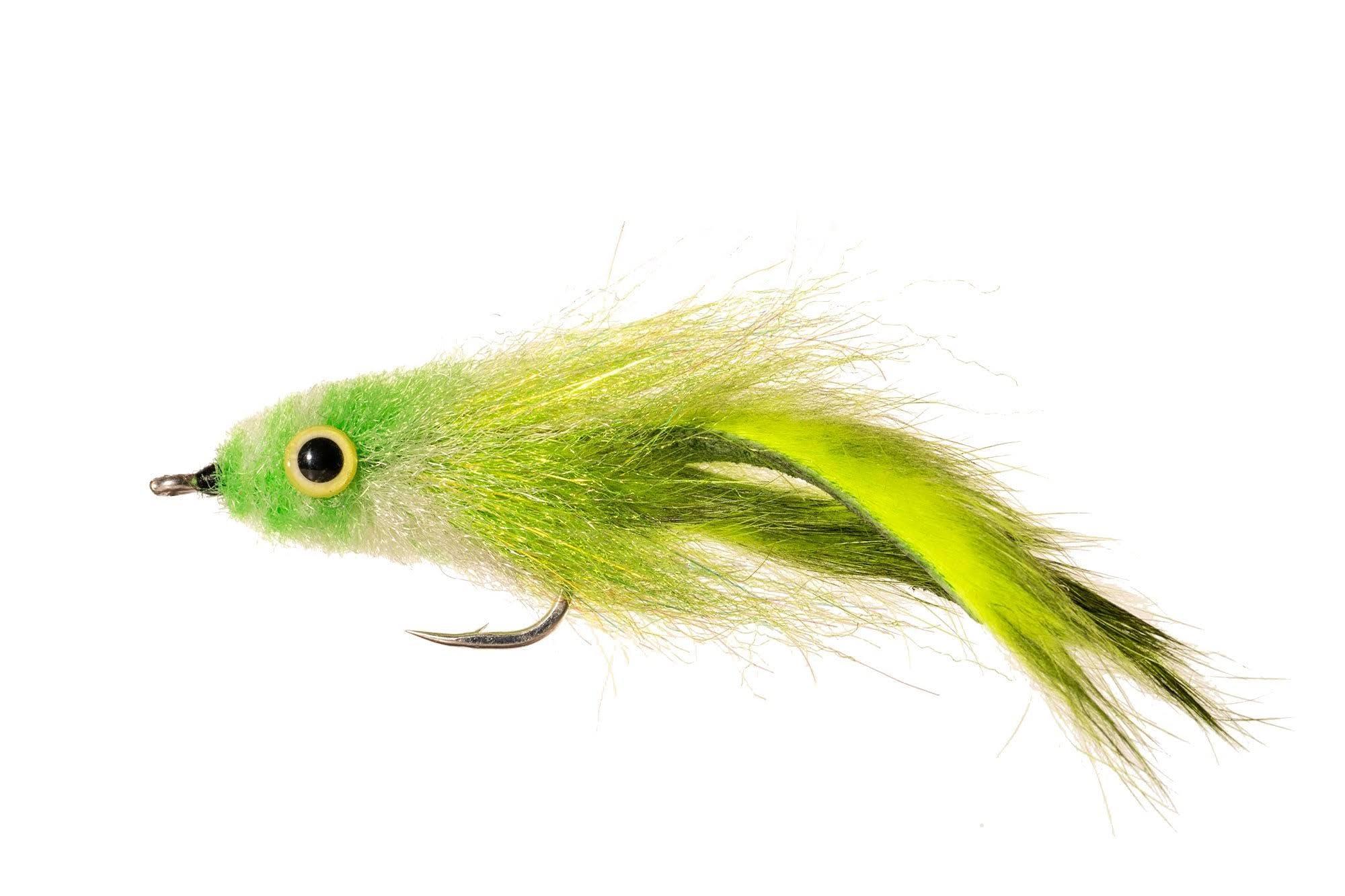 Enrico Puglisi - Tarpon Bunny - Chartreuse 2/0