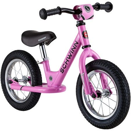 Schwinn Skip Toddler Balance Bike · 12-Inch Wheels · Beginner Rider Training · Pink