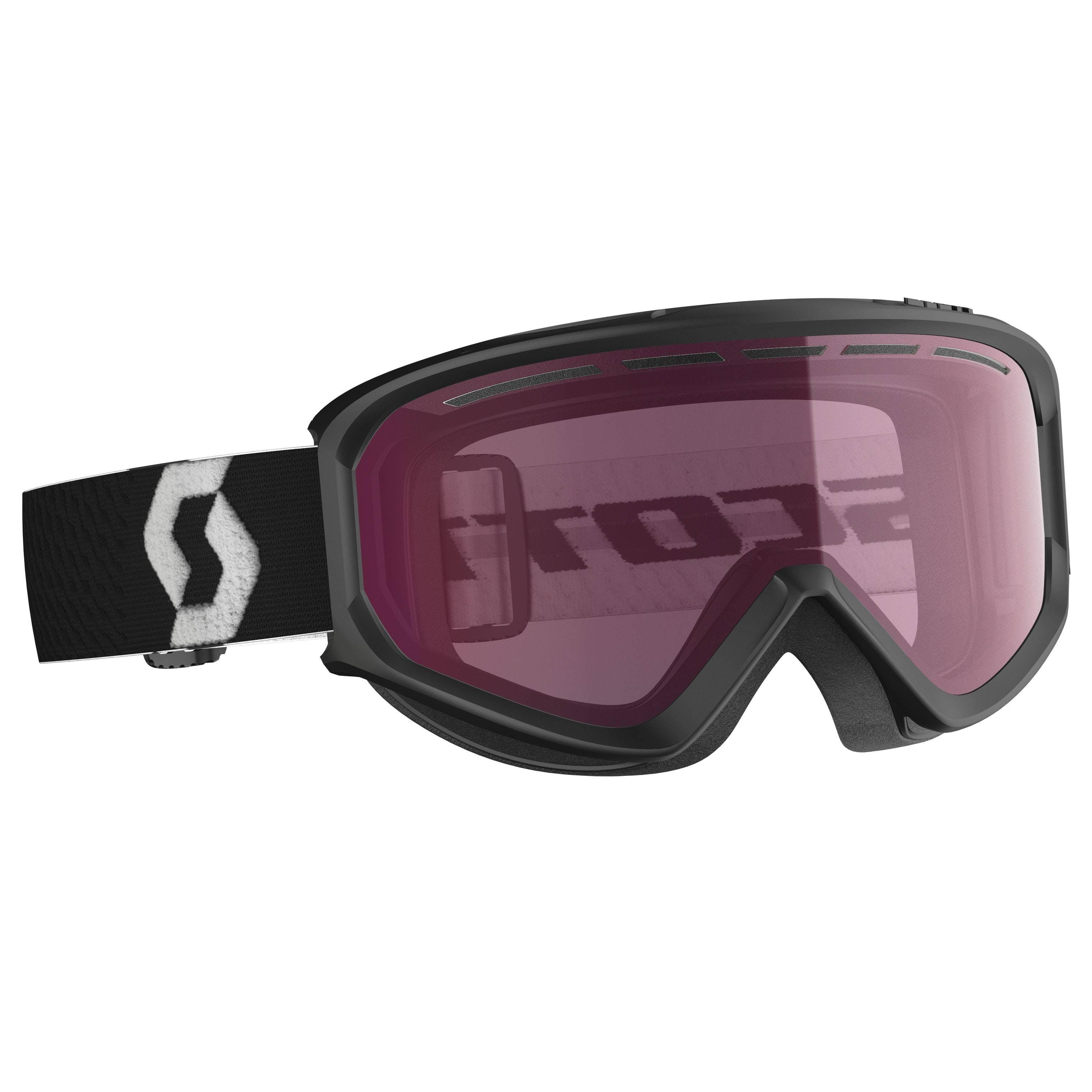 Scott Fact  Goggle Black / Enhancer · 2020