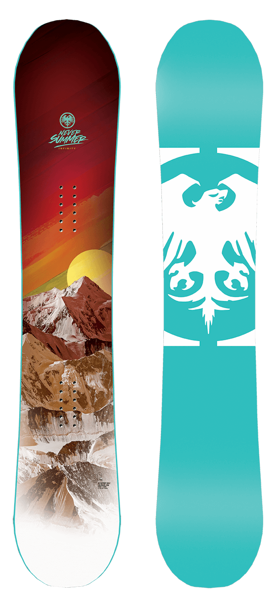 Never Summer Infinity Snowboard · 2021