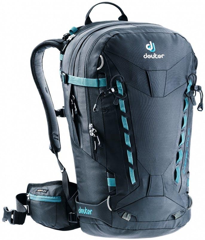 Deuter - Freerider Pro 30 Ski Pack - Black