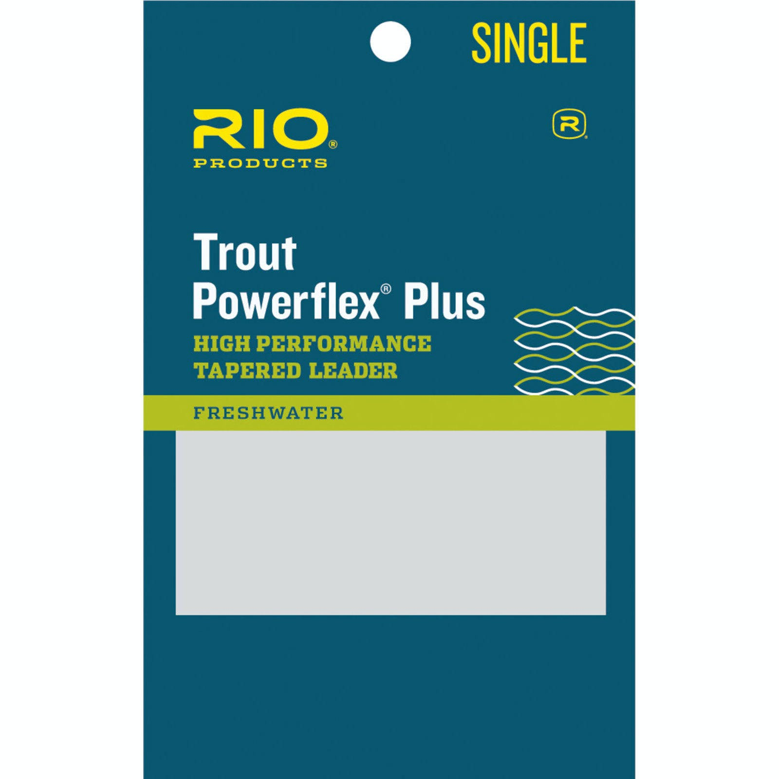 Rio Powerflex Plus Leader 7.5ft 6X