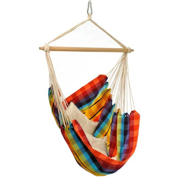 Byers of Maine - Brazil Hanging Chair - Rainbow