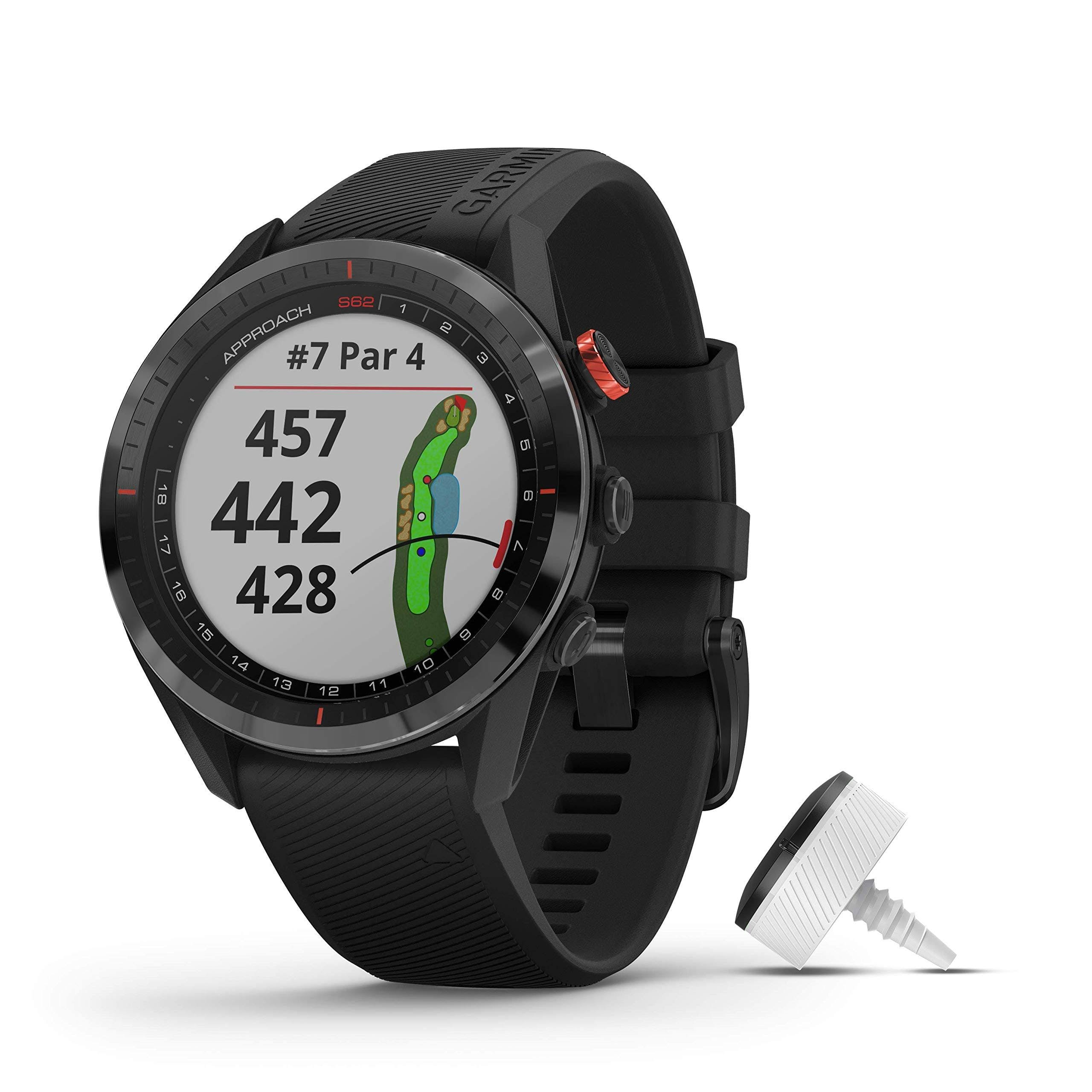 "Garmin Approach S62 Bundle Multisport GPS Watch - 1.3"" Display - Black"