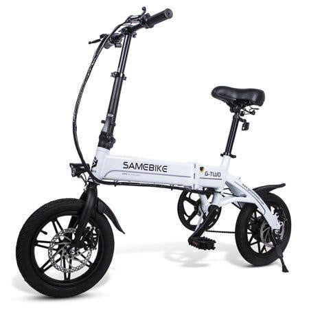 Lixada 14 Inch Folding Electric Bike Power Assist Electric Bicycle E-Bike