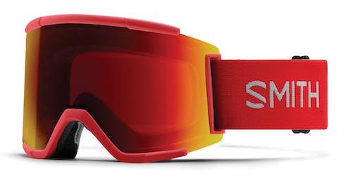 Smith Squad XL AC Louif Paradis Chromapop Everyday Red Mirror Goggles