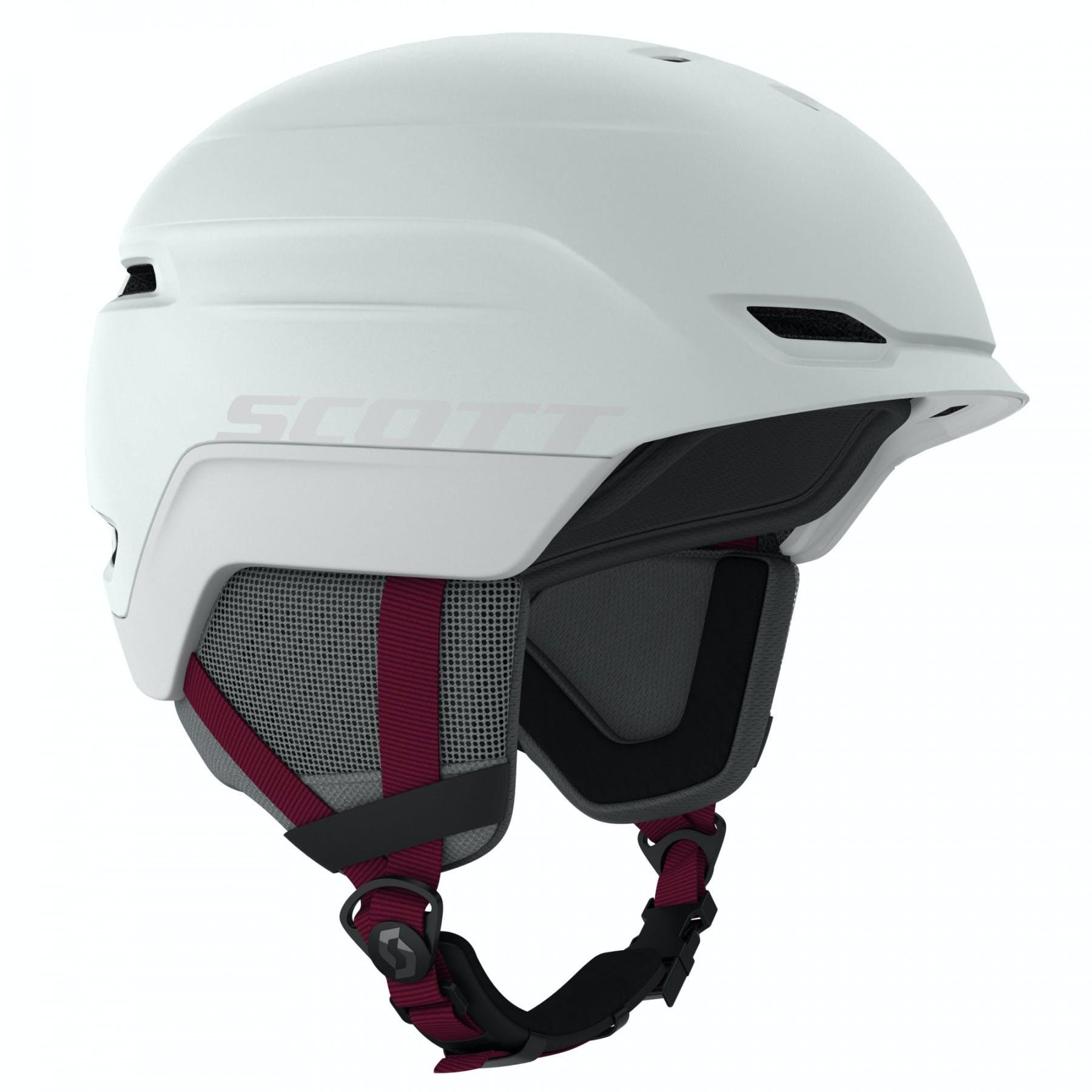Scott Chase 2 Plus Helmet Large Mist Grey/merlot Red