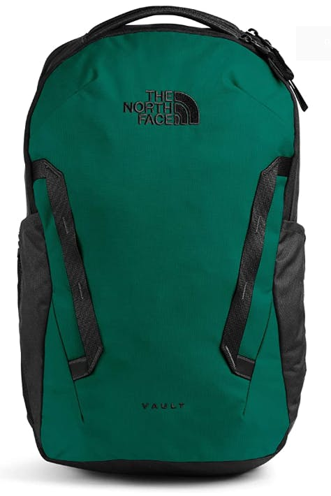 THE NORTH FACE - VAULT PACK - OS - Evergreen/Tnf Black