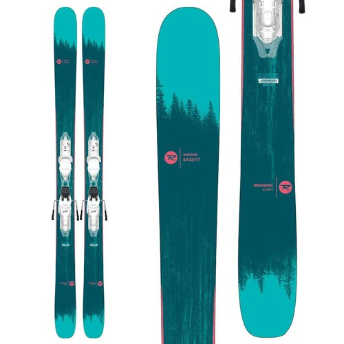 Rossignol Sassy 7 Skis w/ Xpress 10 Bindings