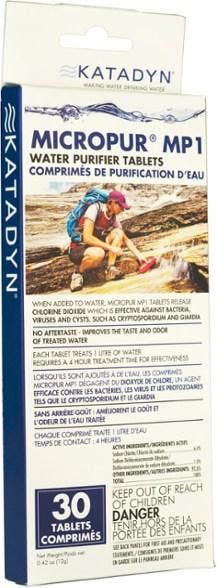 Katadyn Micropur Purification Tablets, Pack of 30