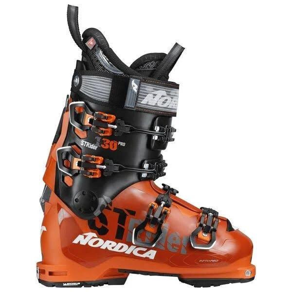 Nordica Strider 130 Pro DYN Mens Ski Boots Orange/black 24.5
