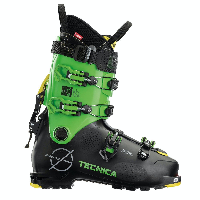 Tecnica Zero G Tour Scout M 29.5 Black/green Ski Boots