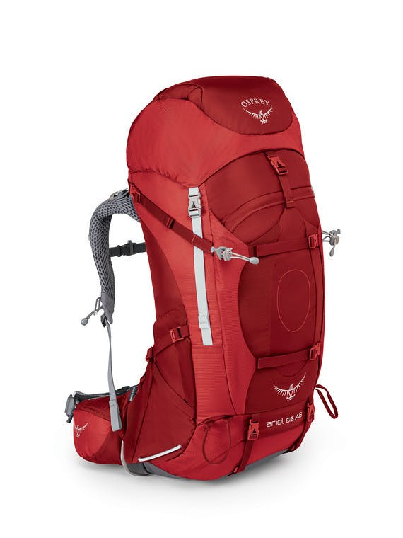 Osprey - Ariel AG 65 Wmns Pack - SMALL - Picante Red