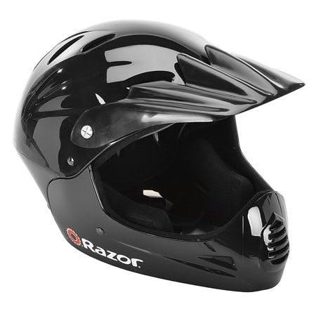 Razor Full Face Multi-Sport Youth Helmet, Glossy Black