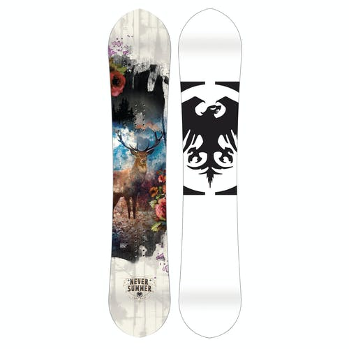 Never Summer Lady West  Snowboard · 2020