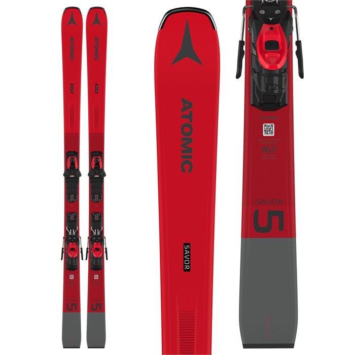 Atomic Savor 5 Red Skis + M 10 Gw Bindings · 2021