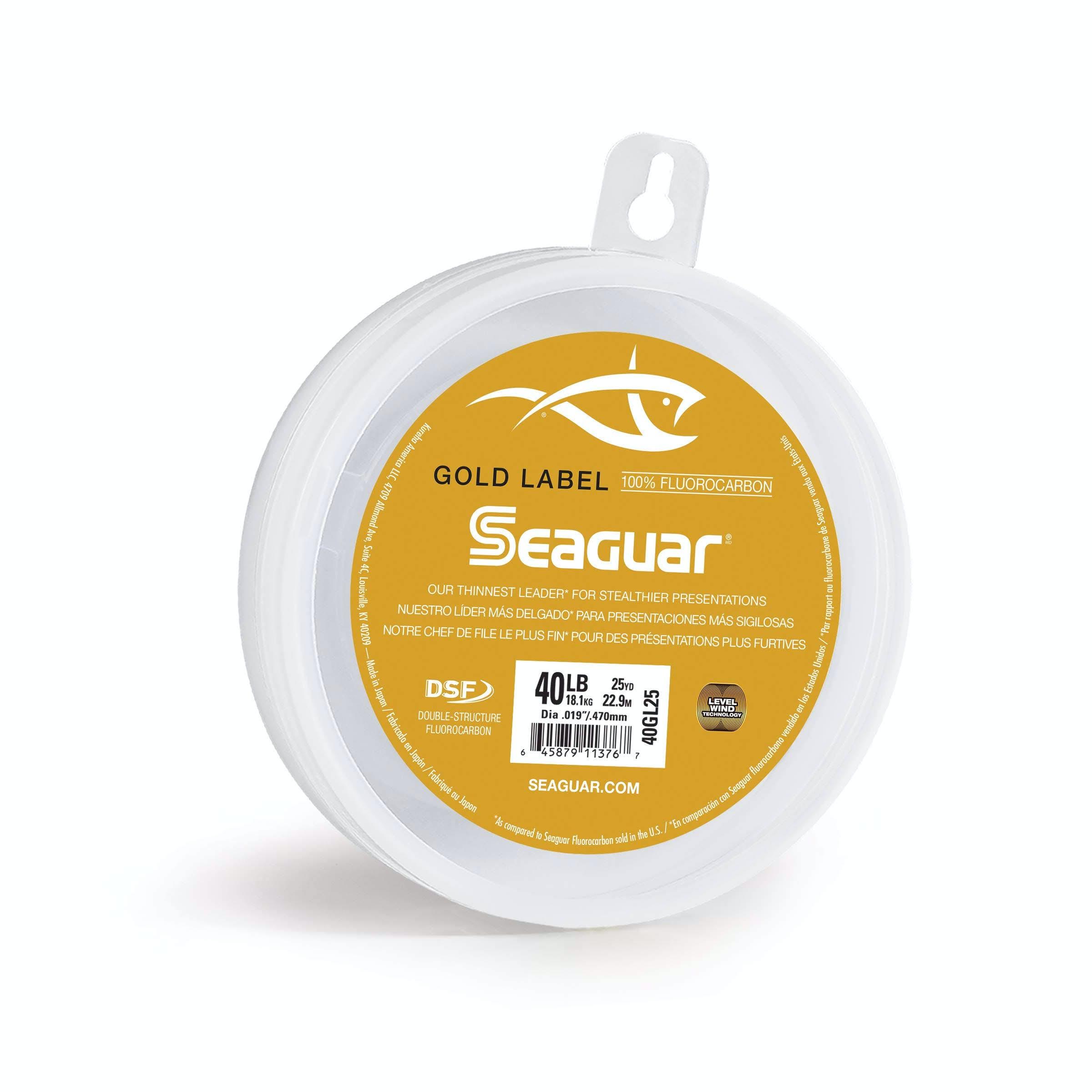 Seaguar 20GL25 Gold Label 25 Flourocarbon Leader