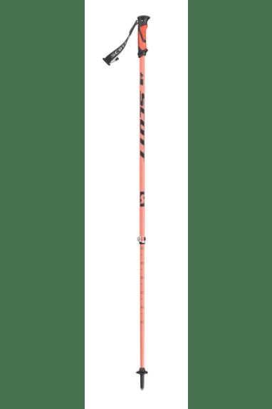 Scott Riot 16 2-part Ski Poles 115-140 Orange