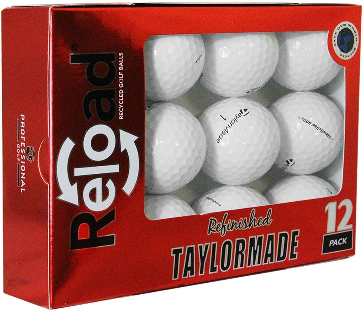 TaylorMade Tour Preferred Refinished Golf Balls