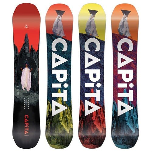 CaPiTa Defenders of Awesome Wide Snowboard · 2021