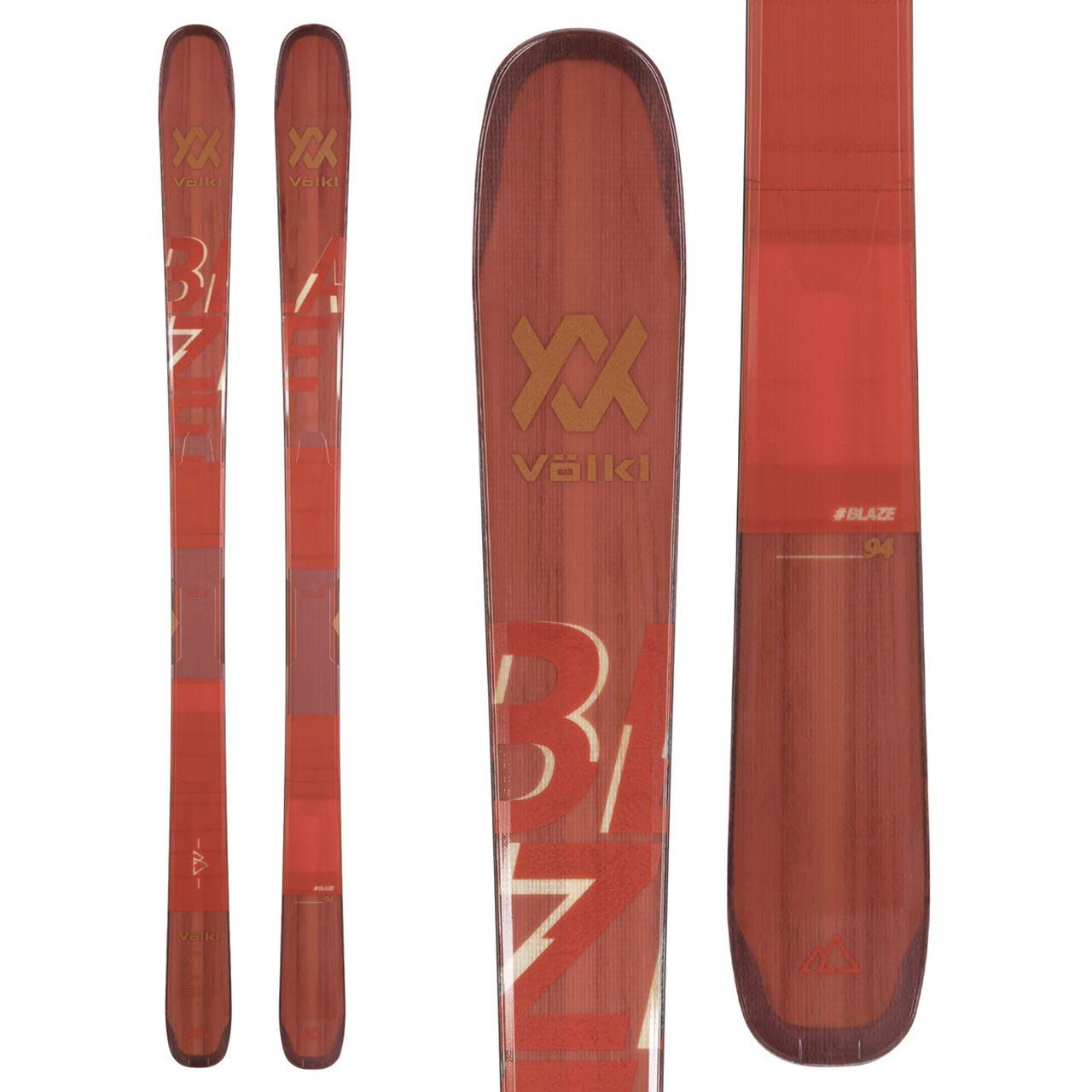 Völkl Blaze 94 Skis · 2021 · 186 cm