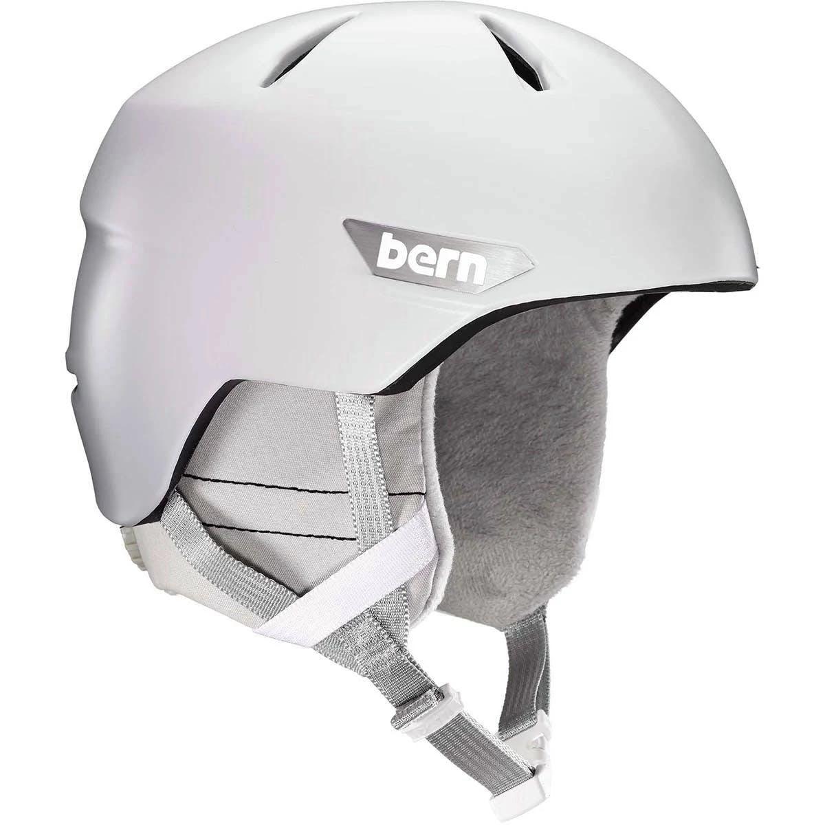 Bern Weston Helmet Satin White Large Sm10z18swt3
