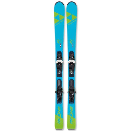 Fischer RC One Jr Youth Skis with FJ4 Bindings 2020 110cm