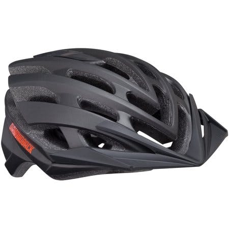 Diamondback Overdrive Mountain Bike Helmet, Large - Matte Black