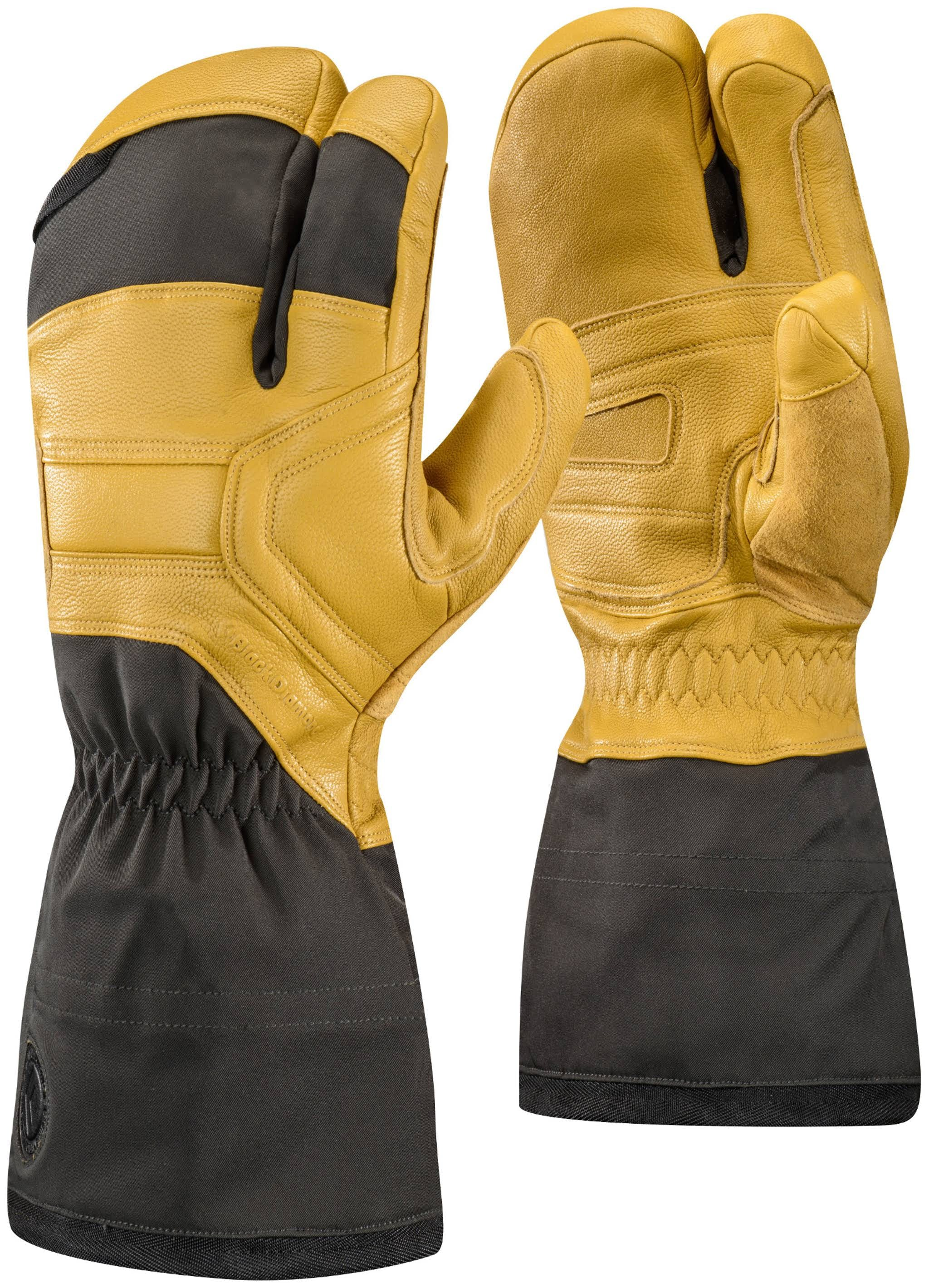 Black Diamond Guide Finger Gloves Natural / XL
