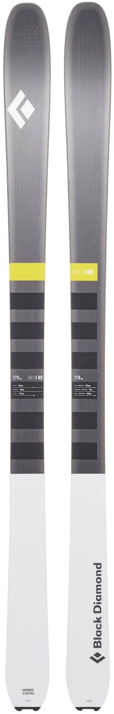 Black Diamond Helio 88 Skis