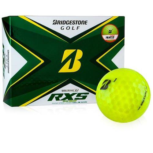 Bridgestone Golf 2020 Tour B RXS Yellow DZ Ball
