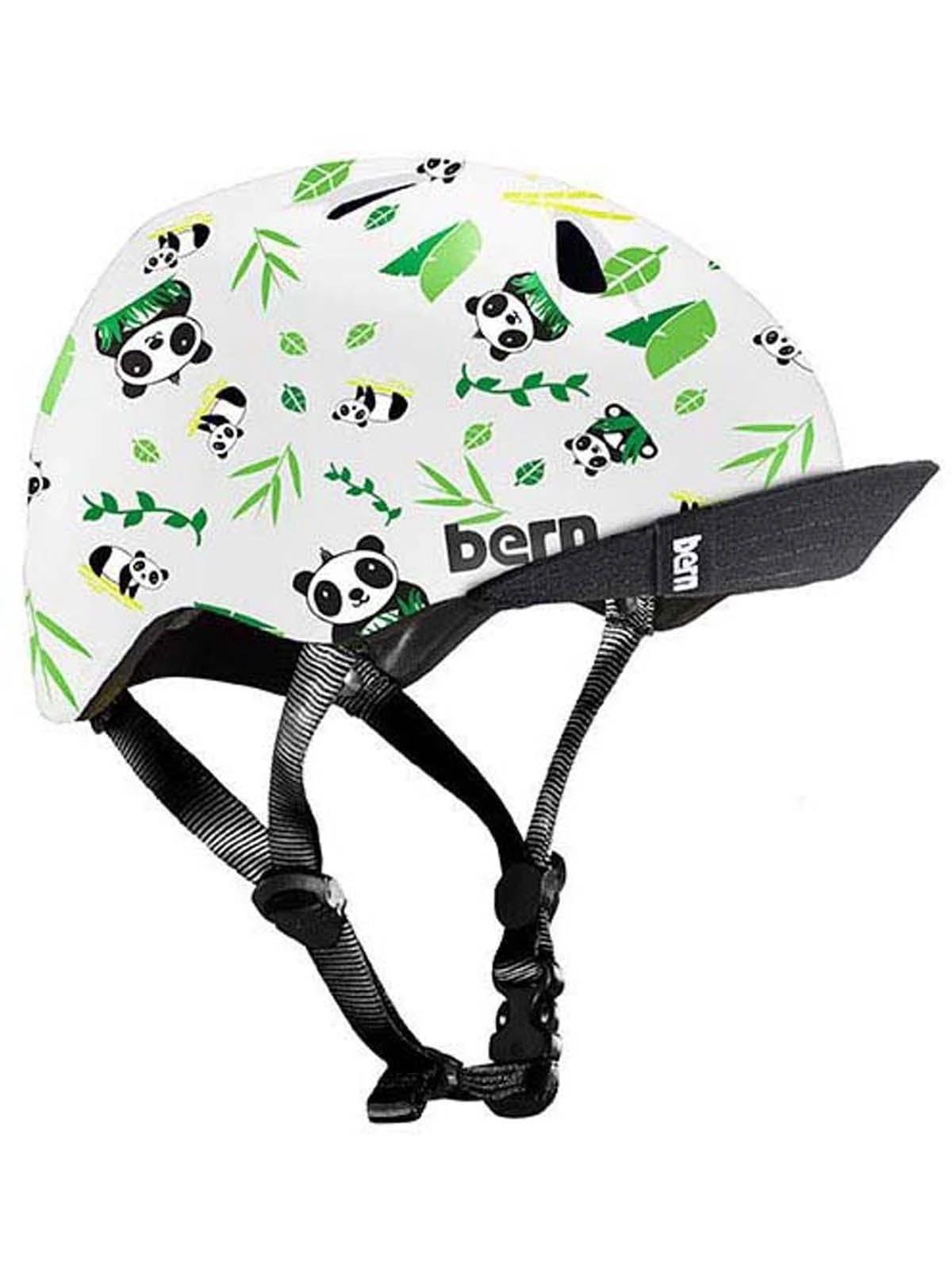 Bern Tigre Helmet - Kids' Satin White Panda, Xxs