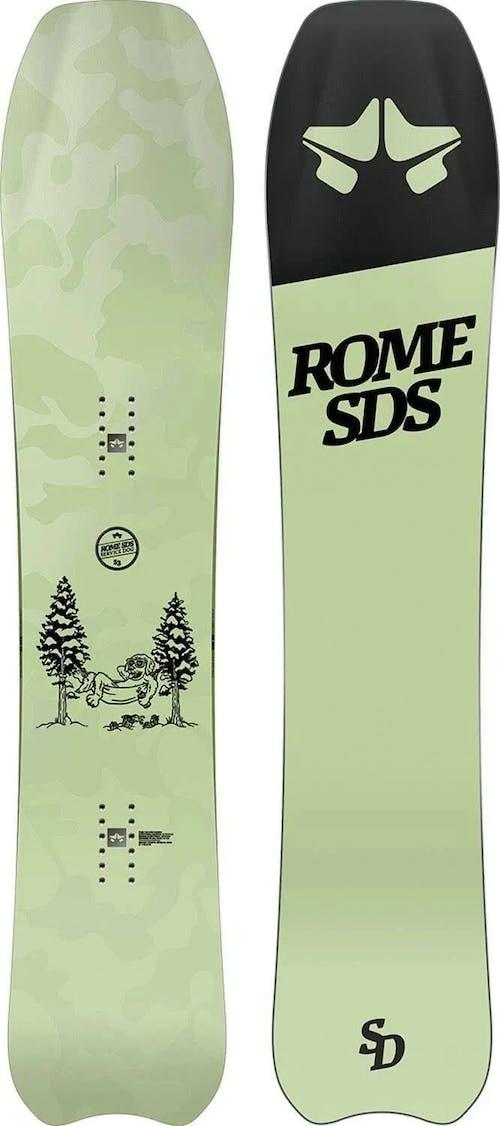 Rome Service Dog Snowboard · 2021