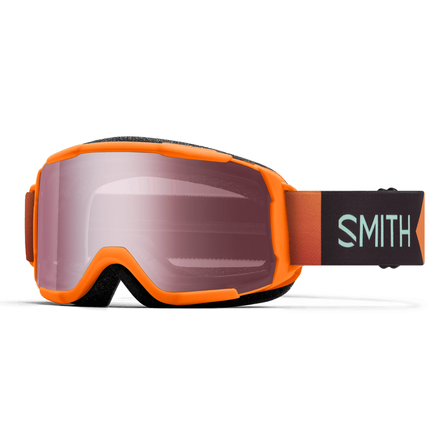Smith Optics Daredevil Youth Goggles In Habanero Geo-ignitor Mirror Size Youth Medium Fit