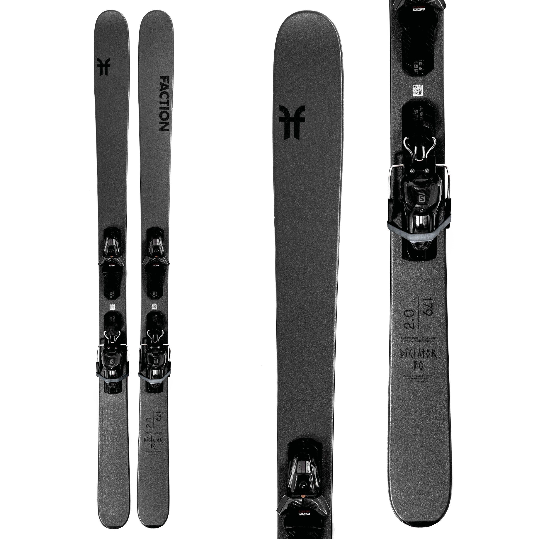 Faction Ski Dictator 2.0 Fg Skis with M11 Gw Bindings · 2021