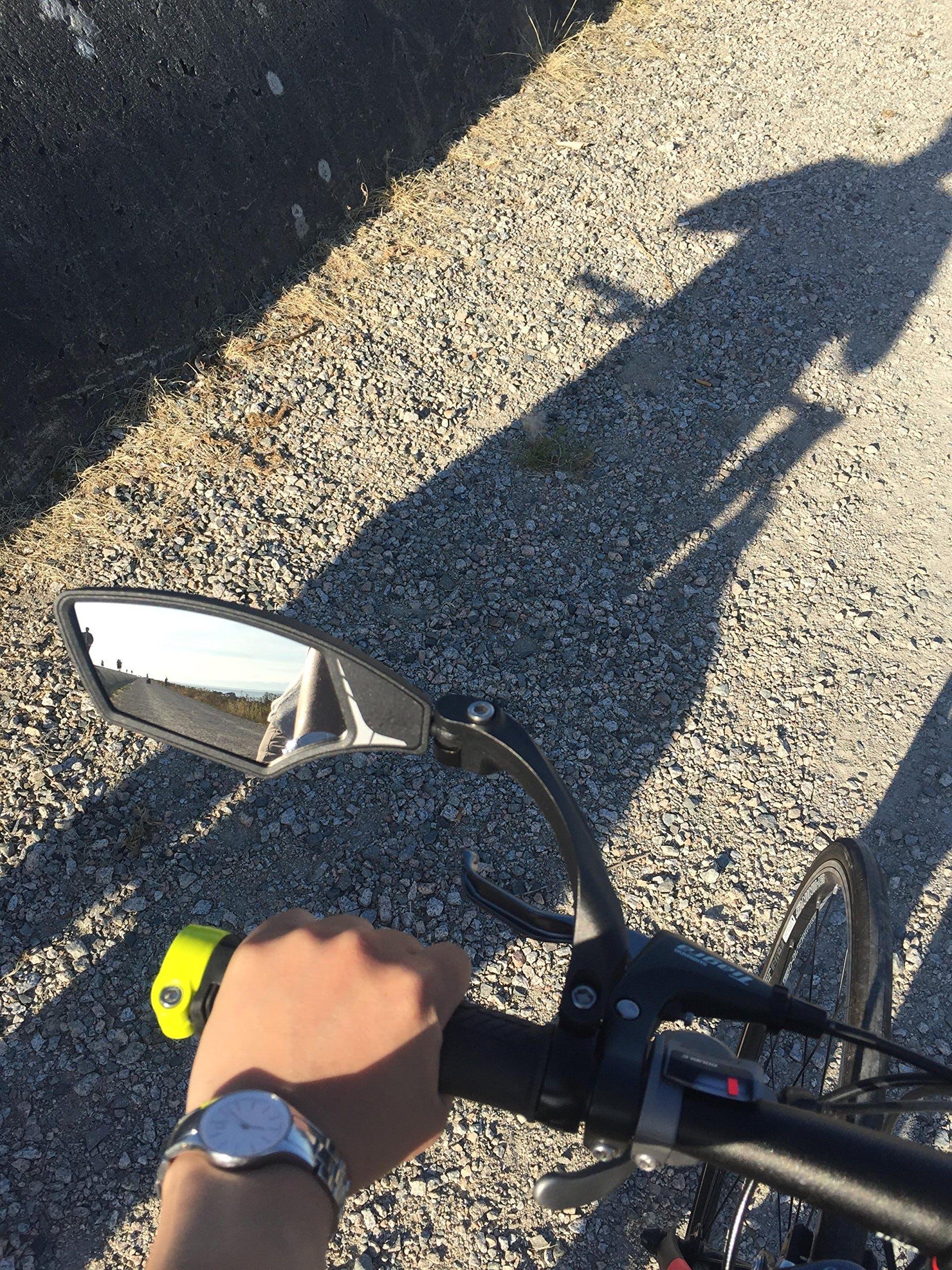 Vetro di Grado automobilistico Hafny Specchio Bici da Bar in Vetro HD