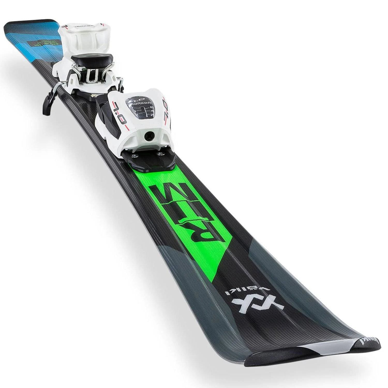 Völkl Kids' RTM JR. Integrated Skis with Vmotion Bindings