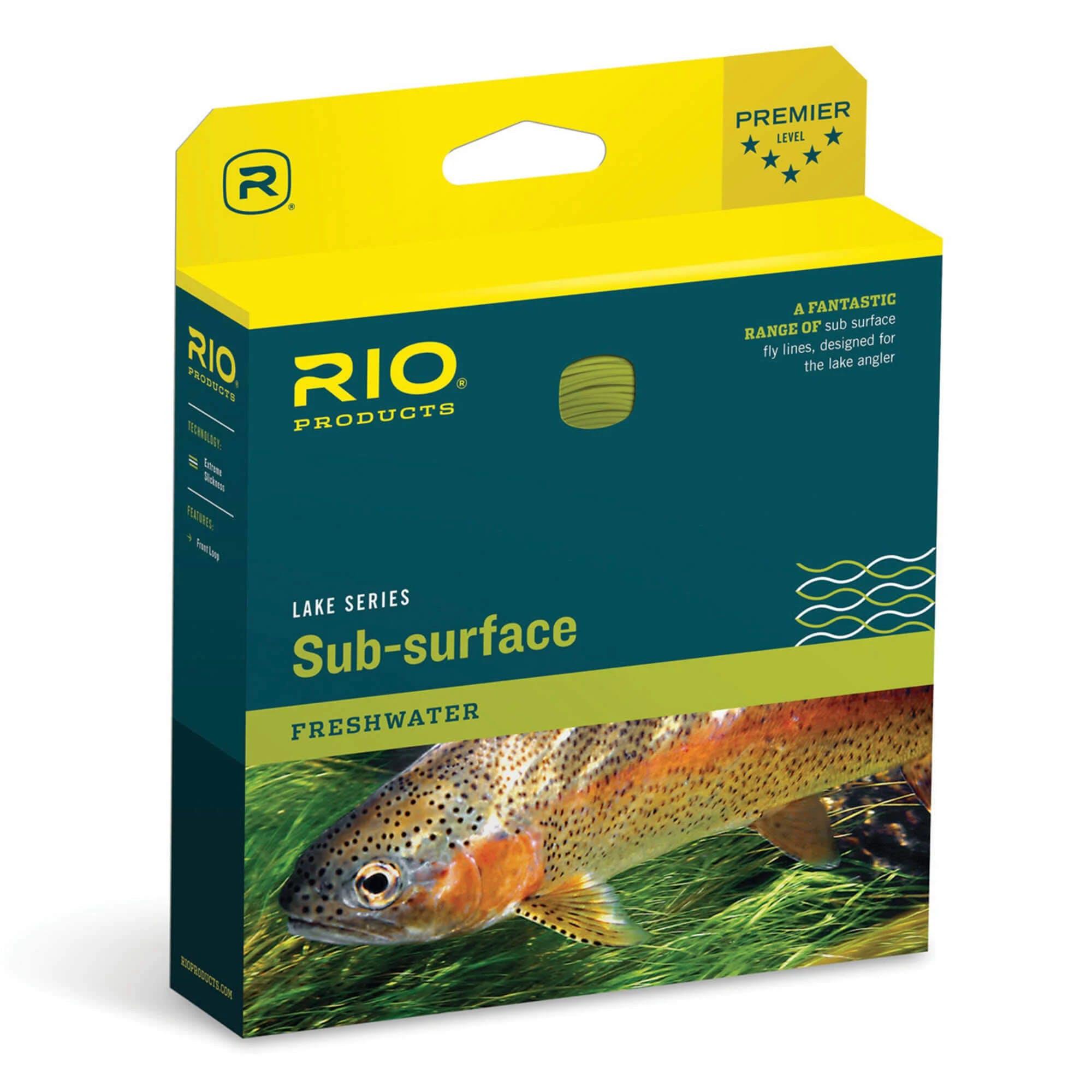 Rio Aqualux II Fly Line - WF6I