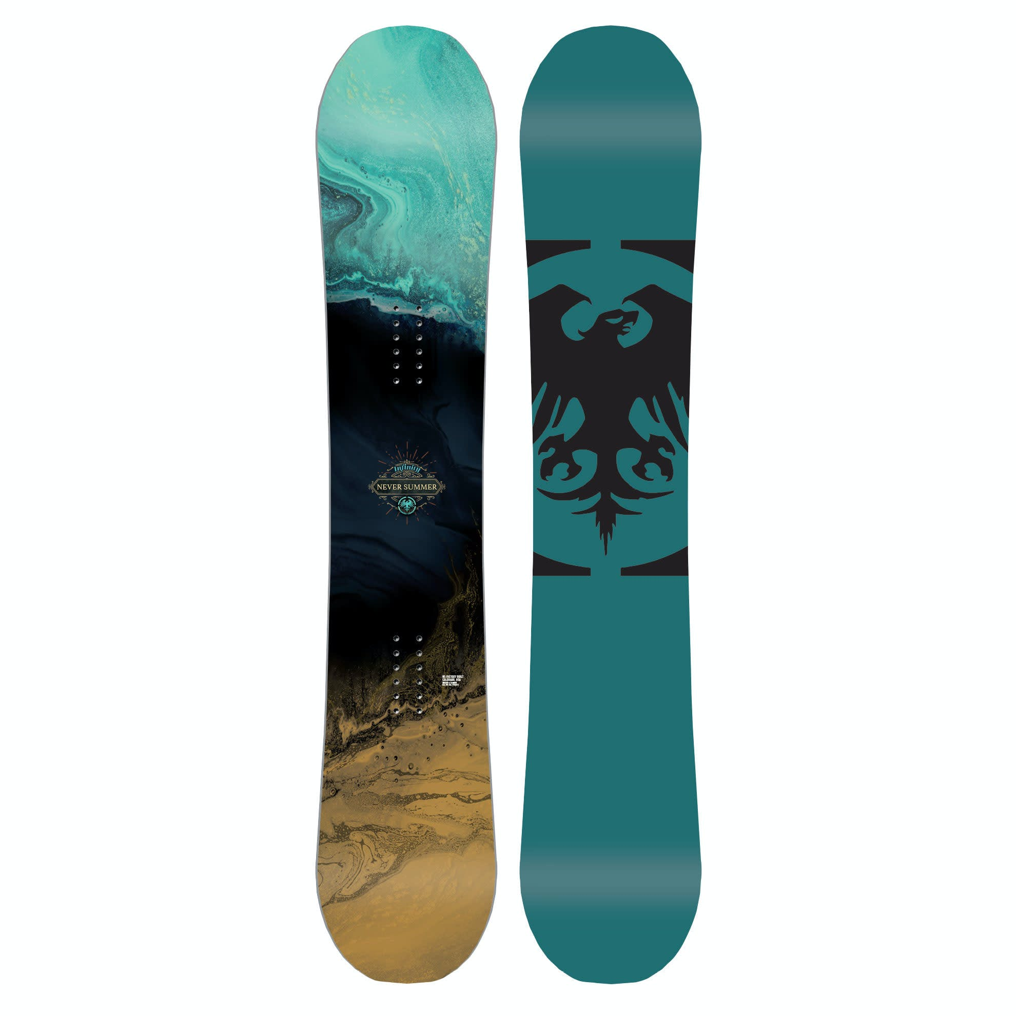 Never Summer Infinity  Snowboard · 2020