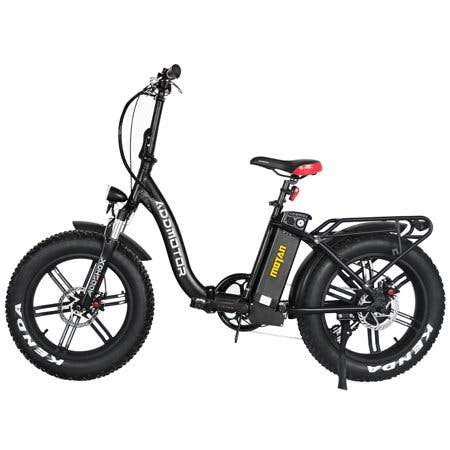 "Addmotor 20"" 750W Electric Folding Bike Adult Step-Thru Bicycles M-140 R7"
