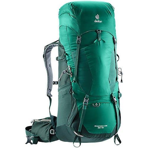 DEUTER - AIRCONTACT LITE 65 + 10 PACK - Alpinegreen Forest