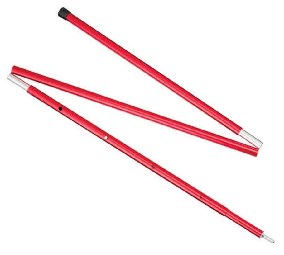 MSR - 5FT ADJUSTABLE POLE - 5ft - Red