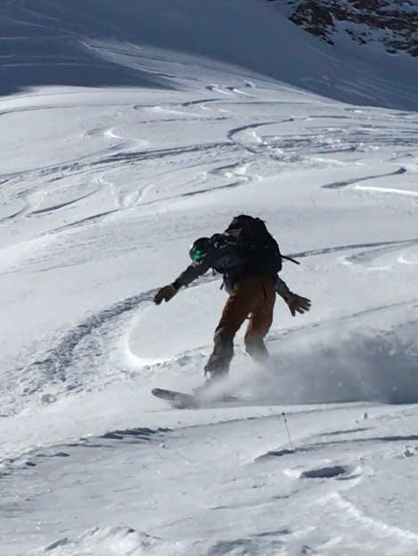 Snowboard Expert Christian B.