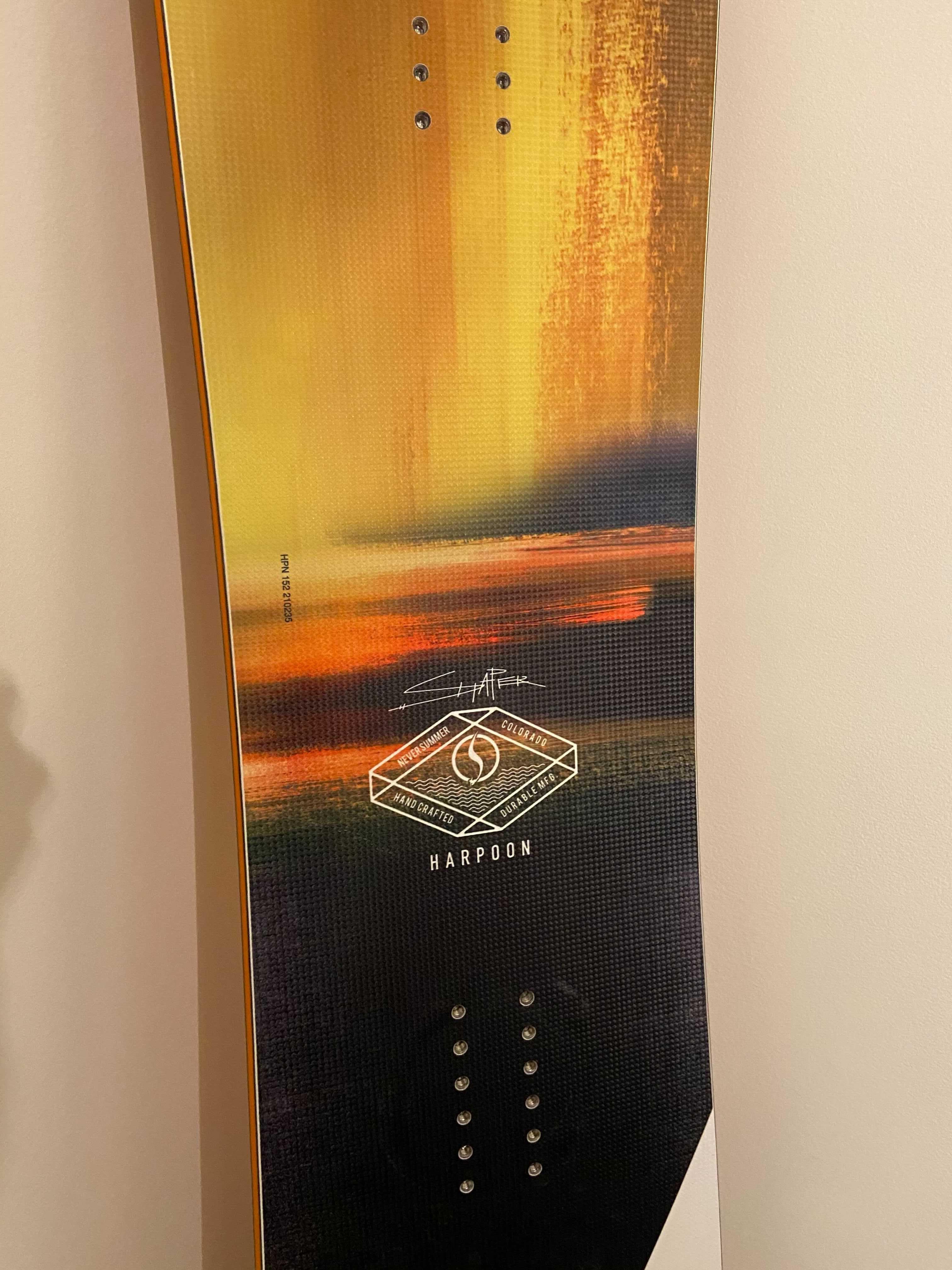 Never Summer Harpoon Snowboard Used · 2021