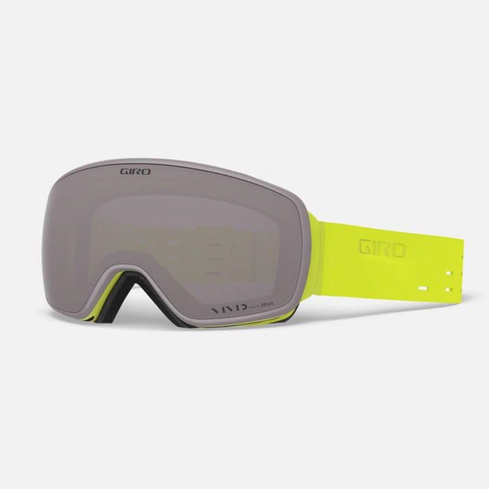 Giro Agent Goggle Silicone Citron with Vivid Onyx · 2020