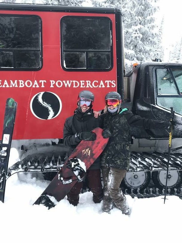 Snowboard Expert Patrick Bean