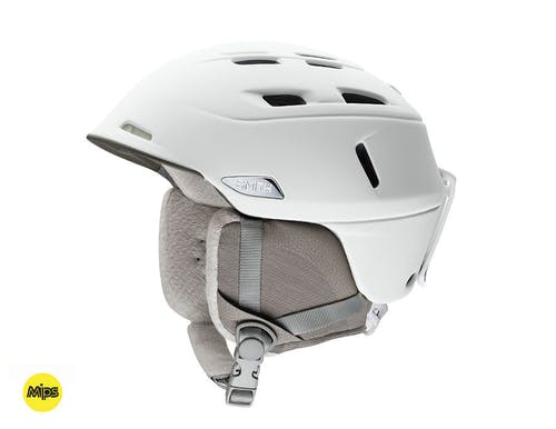 Smith Compass MIPS Hemlet Small Pearl White Helmet
