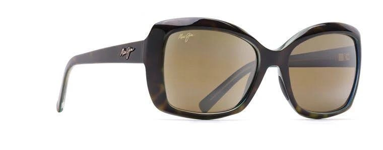 Maui Jim Sunglasses Orchid (H735-10P) Tortoise with Peacock 56 mm